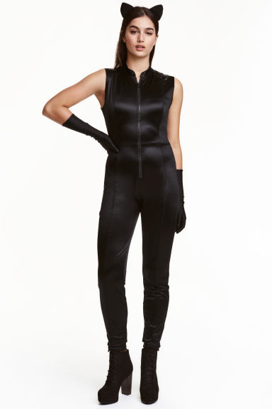 Cat costume - Black/Cat - Ladies | H&M GB