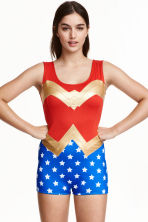 Superhero body - Red/Wonder Woman - Ladies | H&M CN 1