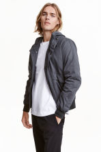 Short jacket - Dark grey - Men | H&M CN 1