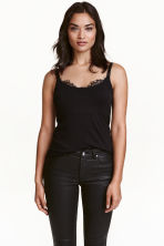 MAMA Nursing top - Black - Ladies | H&M CN 1