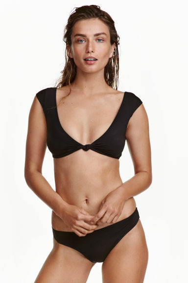 Bikini brief bottoms - Black - Ladies | H&M CN