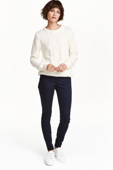 Treggings  - Dark blue - Ladies | H&M CN 1