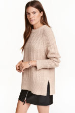 Pullover in maglia - Beige mélange - DONNA | H&M IT 1
