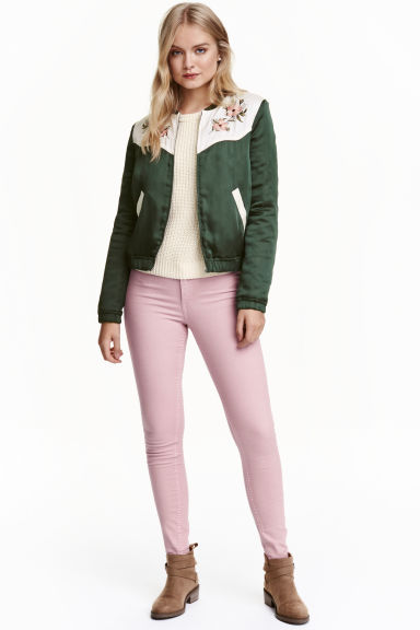 Superstretch treggings - Pink -  | H&M CN 1