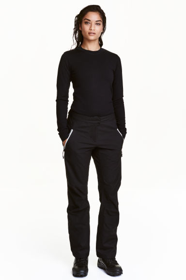 Shell ski trousers - Black - Ladies | H&M CN 1