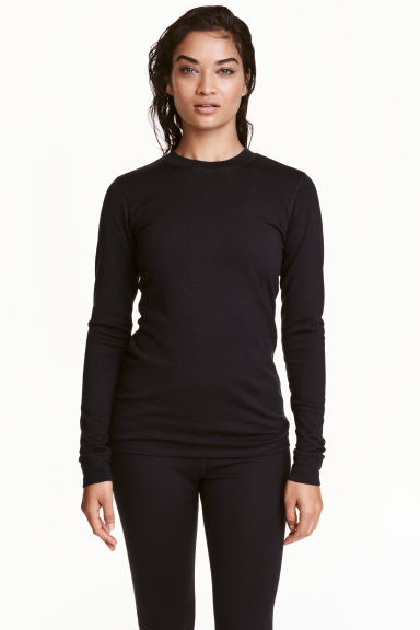 Wool base layer top Model