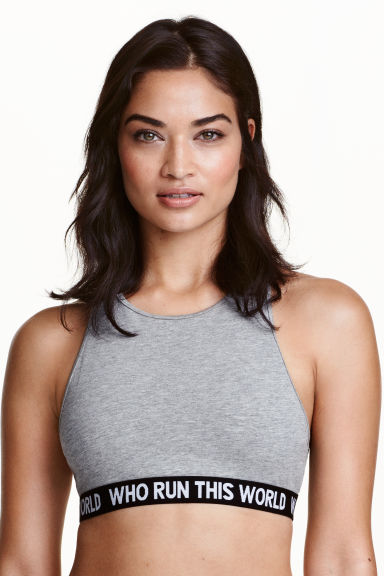 Soft bra - Grey - Ladies | H&M CN 1