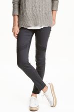 Skinny Ankle Biker Jeans - Dark grey - Ladies | H&M GB 1