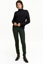 Superstretch trousers - Dark green - Ladies | H&M CN 1