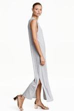 Long dress - Grey marl - Ladies | H&M CN 1