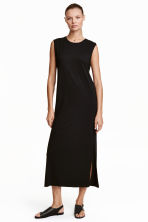 Long dress - Black - Ladies | H&M CN 1