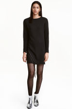 Sweatshirt dress - Black -  | H&M CN 1