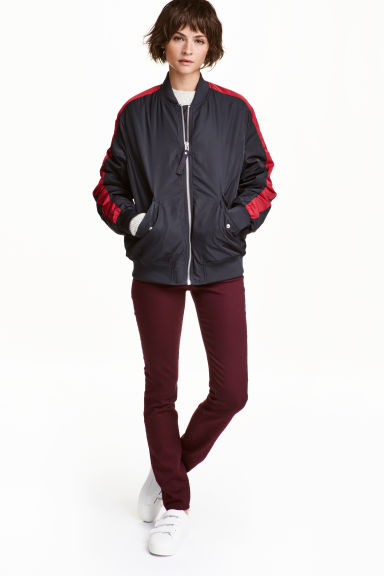 Superstretch trousers - Burgundy - Ladies | H&M CN