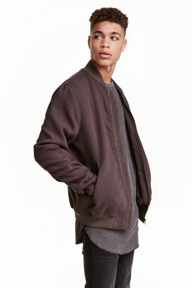 Bomber jacket - Brown - Men | H&M CN 1