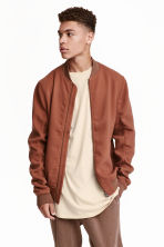 Bomber jacket - Light brown - Men | H&M CN 1
