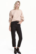 Straight High Jeans - Svart - DAM | H&M FI 1