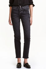 Vintage High Cropped Jeans - Svart denim - DAM | H&M FI 2