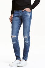 Skinny Low Trashed Jeans - Bleu denim - HOMME | H&M FR 1