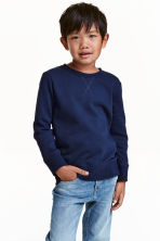 運動衫 - Dark blue - Kids | H&M 1