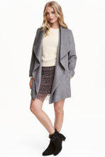 Short coat - Dark grey - Ladies | H&M CN 1