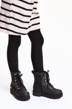 Warm-lined boots - Black -  | H&M CN 1