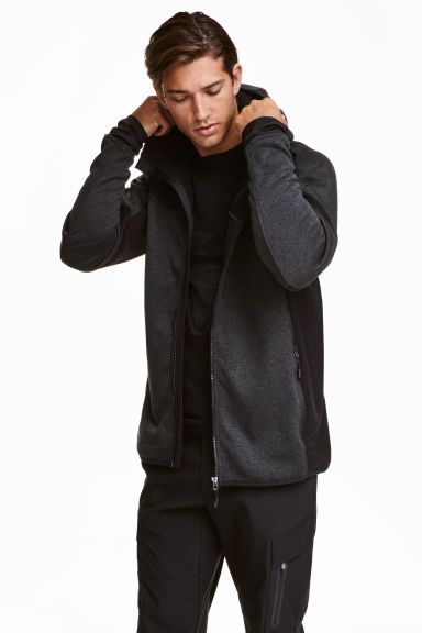 Outdoor jacket - Dark grey - Men | H&M CA 1