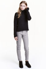 Twill biker trousers - Grey - Kids | H&M CN 1
