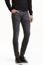 Super Skinny Low Jeans  - Nero Washed out - UOMO | H&M IT 1
