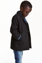 Coat - Black - Kids | H&M CN 1