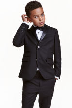 Jacket with satin details - Black - Kids | H&M CN 1