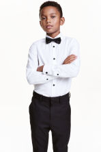 Shirt with tie/bow tie - White - Kids | H&M CN 1