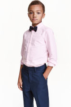 Shirt with tie/bow tie - Light pink - Kids | H&M CN 1