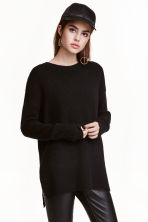 Oversized jumper - Black - Ladies | H&M CN 1