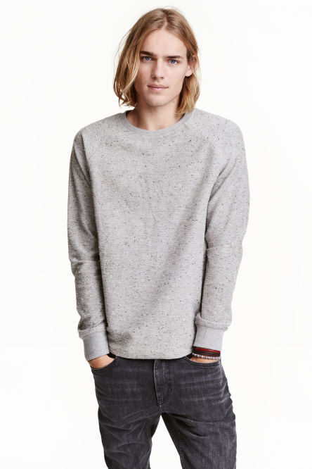 Top with raglan sleeves