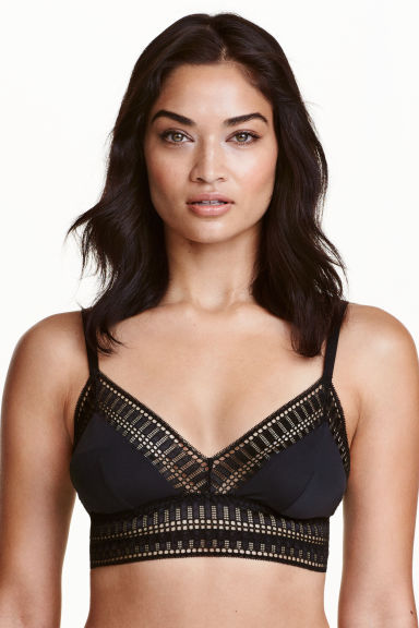 Non-wired bra - Black - Ladies | H&M CN 1