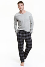 Pyjamas - Grey/Checked - Men | H&M CN 1