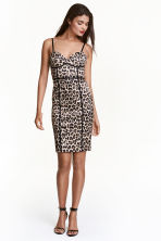 Short dress - Leopard print - Ladies | H&M CA 1
