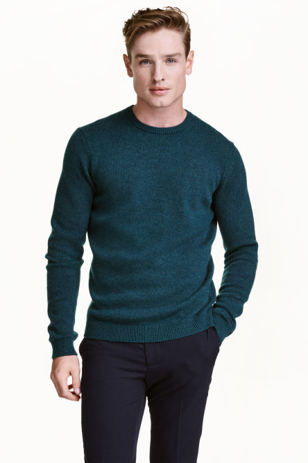 Pullover in lambswool