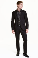 Suit trousers Skinny fit - Black - Men | H&M CA 1