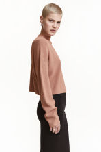 Ribbed jumper - Camel - Ladies | H&M CN 1