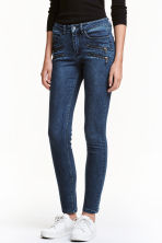 Slim Biker Jeans - Blu denim scuro - DONNA | H&M IT 1