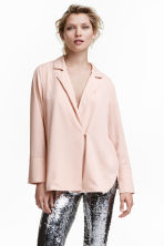Crêpe blouse - Powder - Ladies | H&M 1