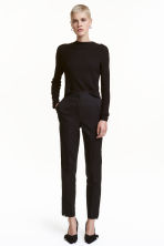 Pantaloni da tailleur - Nero - DONNA | H&M IT 1