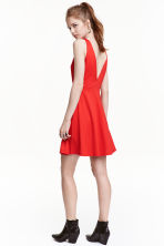 Short dress - Red - Ladies | H&M CN 1