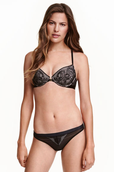 Lace briefs - Black - Ladies | H&M CN 1