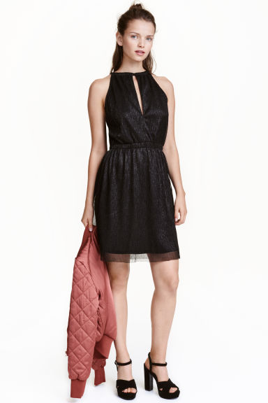 Abito glitter - Nero - DONNA | H&M IT 1