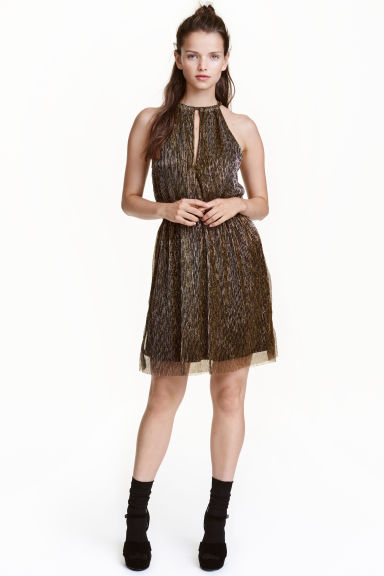 Glittery dress - Gold - Ladies | H&M 1