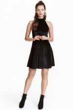 Glittery dress - Black/Silver - Ladies | H&M CN 1