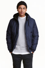Padded jacket - Dark blue - Men | H&M 1