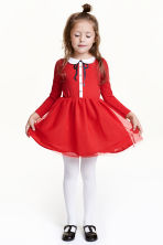 Christmas dress - Red -  | H&M GB 1